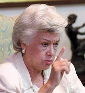 La vicepresidenta Ortiz Bosch advierte que puede defenderse