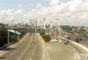 Si el puente Duarte se arrima