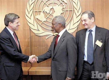 ONU pide tiempo para misión a Irak