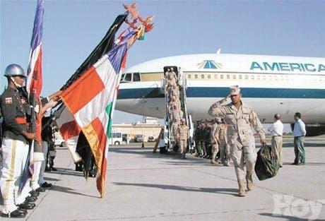Reciben tropa estuvo en Irak