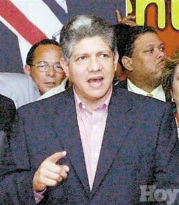 """Eduardo Estrella considera """"dañino"""" proyecto reforma"""