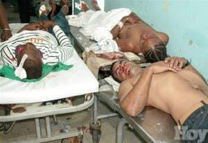 Hospitales del área metropolitana atendieron 1,500 heridos el 31