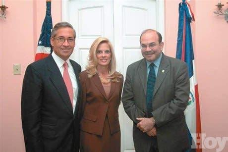 Hans Hertell ofrece recepción en honor de negociadores norteamericanos y dominicanos