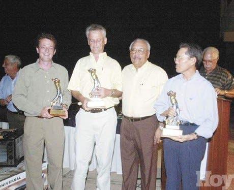 Robert Smith gana en golf La Romana