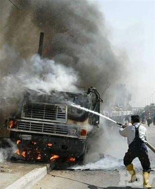 Mueren cinco en atentado Bagdad