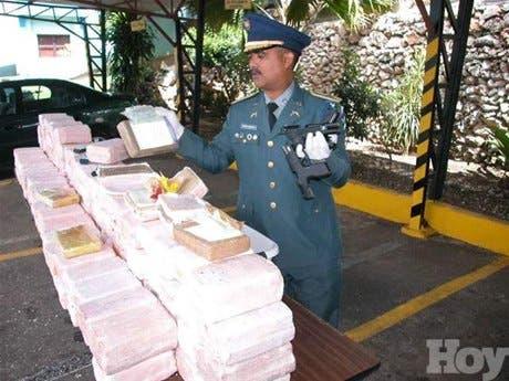 DNCD informa incautación de 375 kilos de cocaína