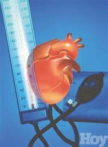 Niveles de presión arterial mientras duerme