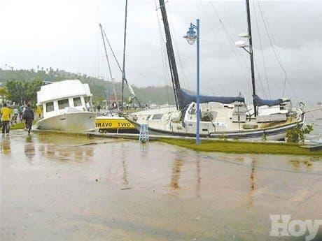 Dicen Gobierno no da importancia a los daños de Jeanne en Samaná