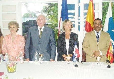Españoles encabezan actos <BR>del V centenario de Azua