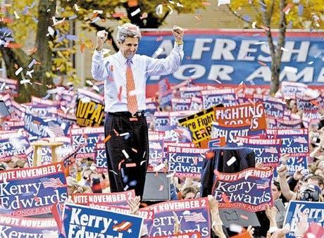Bush y Kerry usan el miedo para motivar <BR>los electores