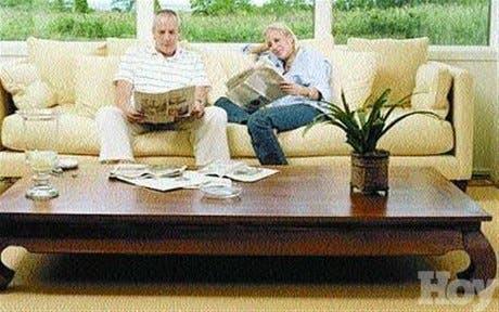 Para mantener el aspecto natural de los muebles
