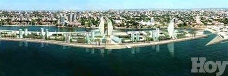 Revelan proyecto para construir una isla artificial