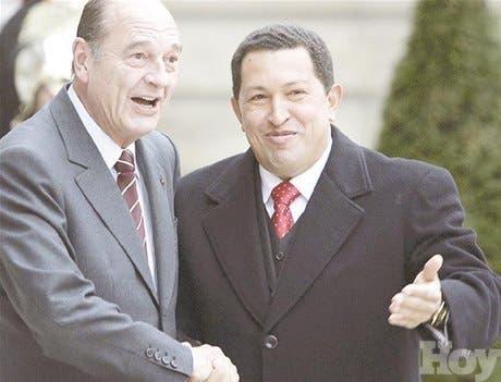 Chávez lanza reto a EEUU