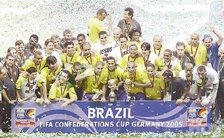 Brasil campeón apabulló a Argentina