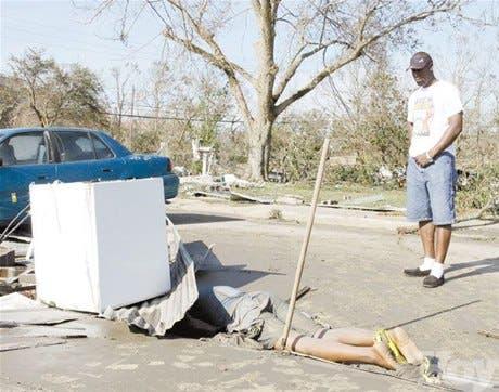 Katrina sembró destrucción