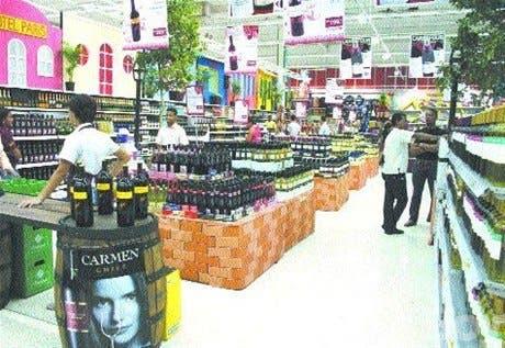Feria de vinos en Carrefour