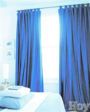Las barras para las cortinas