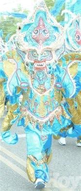 Colorido, imaginación y creatividad en <BR>Carnaval de Bonao