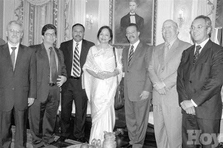 Presidente recibe inversionistas India