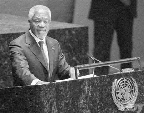 Annan insiste reforma de ONU