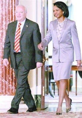 Rice y Moratinos acuerdan trabajo conjunto para AL