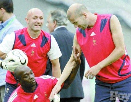 Francia contra Portugal <BR><STRONG>Zidane y Figo se despiden</STRONG>