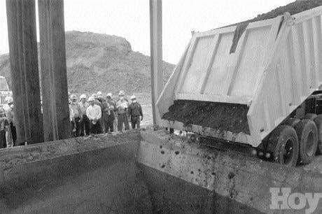 Fábrica de cemento comienza a usar rockash