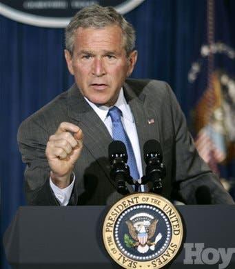 Bush: los cubanos decidirán si ponen fin a la tiranía