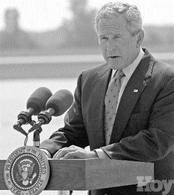 """Bush en guerra contra """"fascistas islámicos"""""""