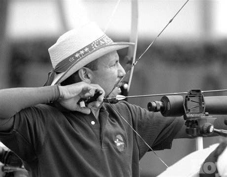 Betances gana cuatro oro en<BR>torneo de tiro con arco