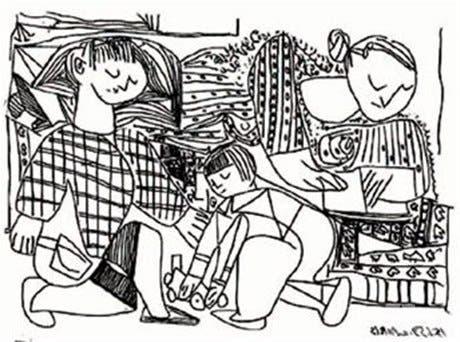 Muestra de dibujos artísticos en México