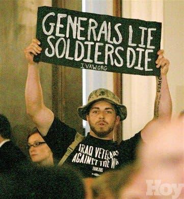 Lasheridas auto-infligidas<BR>de EEUU en la guerra de Irak