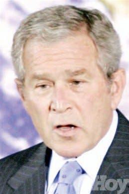 Bush instaa reducir emisiones de gases