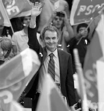 PSOE lanza candidatura Zapatero