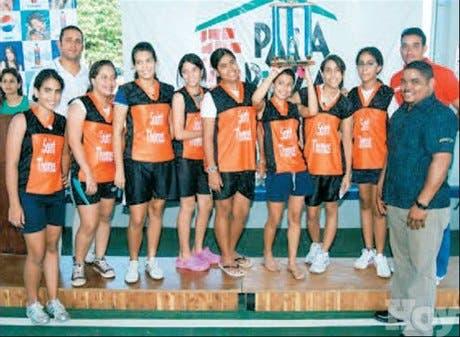 <P>Saint Thomas gana el<BR>torneo basket escolar</P>