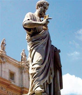 <STRONG>HACIA LO ALTO<BR></STRONG>Están considerados columnas de la iglesia