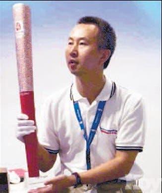 Antorcha olímpica llega a las 'grullas' China