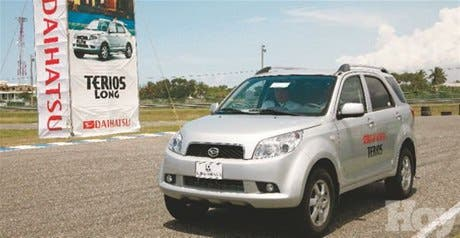 Realizan prueba de manejo y entrenamiento del nuevo Daihatsu Terios Long