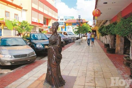 El Barrio Chino, un destino de compras