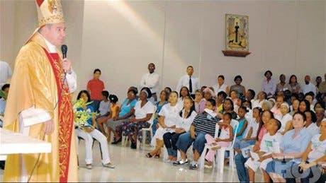 Inauguran iglesia San Ignacio de Loyola en comunidad La Ciénaga