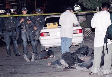 Narco toca puertas Calderón