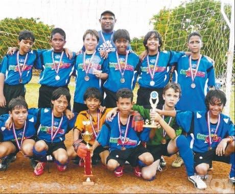 Campascasio se corona campeón en fútbol infantil