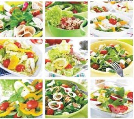 Ensaladas, un rico y nutritivo plato único