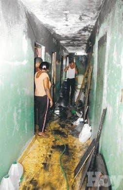 Mejoran afectados por incendio