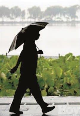 Una vaguada traerá lluvias en algunas regiones país