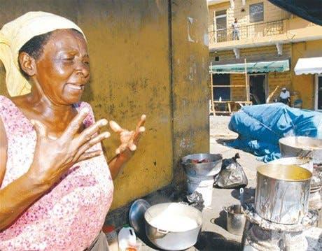 Dolor e impotencia sienten los haitianos por muerte de familiares