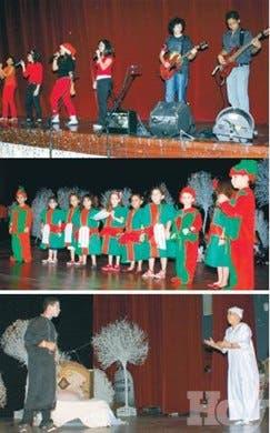 Una velada navideña con villancicos, bailes y teatro negro