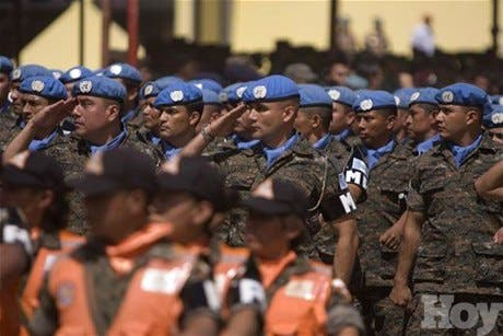 Haití espera tropas de Corea del Norte y de Japón tras sismo