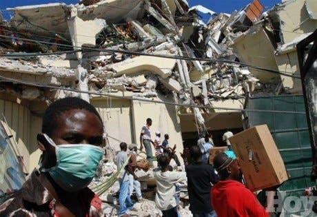 Ayuda prometida a Haití es «asombrosa», pero mayor parte no desembolsada