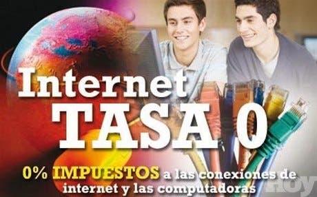<STRONG>Tecnología</STRONG><BR>¿Cómo lograr 0% de impuestos a Internet?